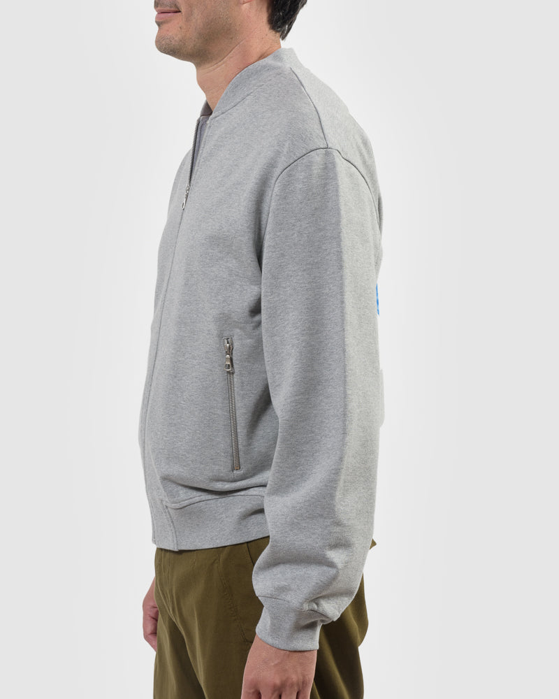 Hoddan Cardigan in Grey Melange