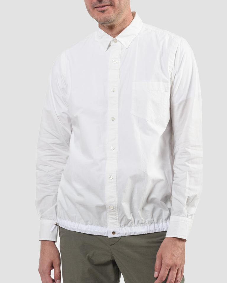 Cotton Shirt in White