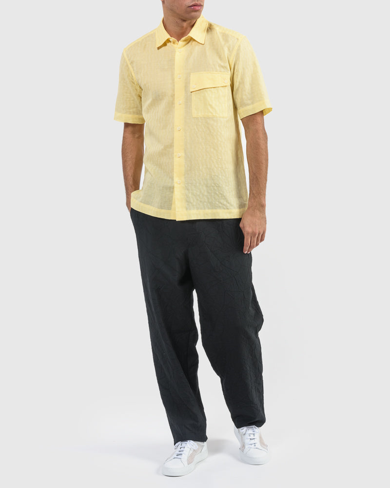 Wave Shirt in Yellow