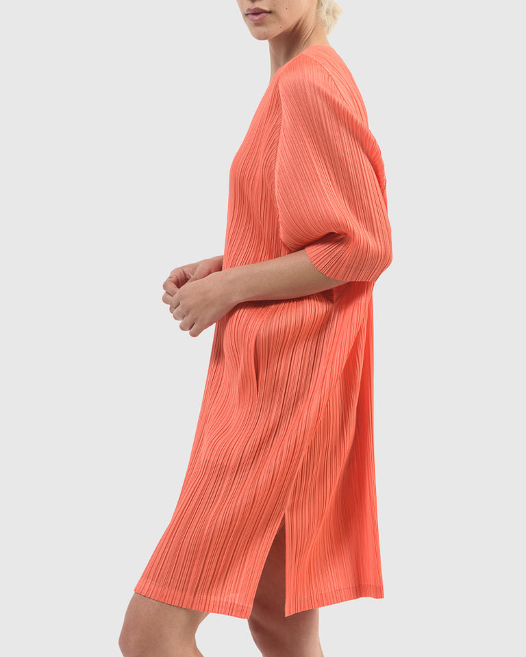 Dress in Coral