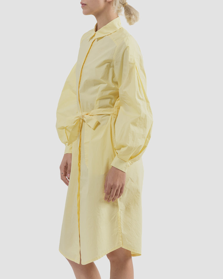 Agata Dress in Light Yellow