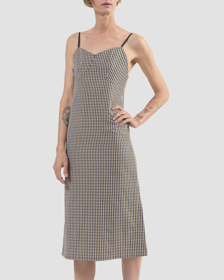 Florence Dress in Check