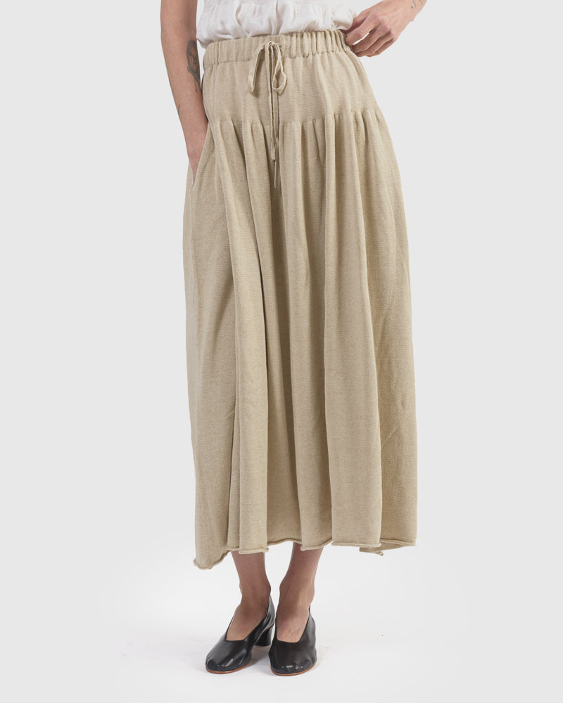 6b206819697 Tier Skirt in Natural – Mohawk General Store