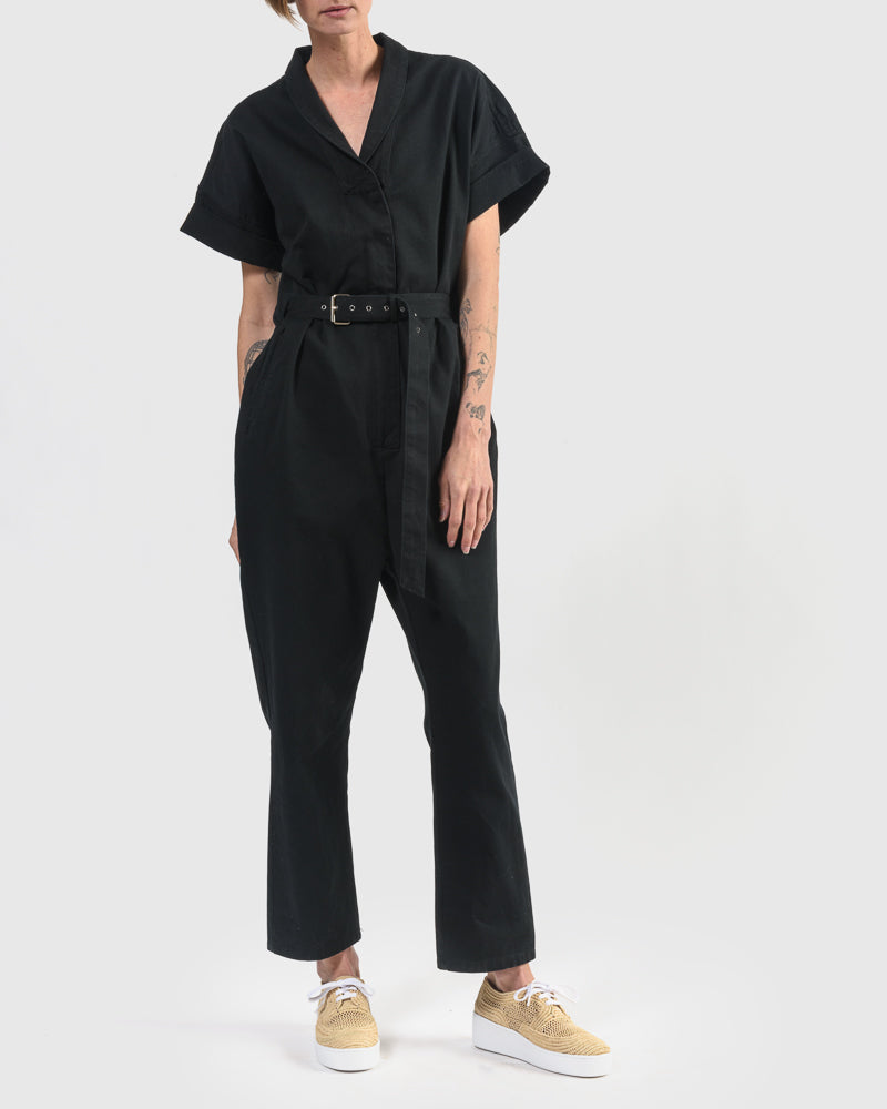 Pitch Jumpsuit in Black