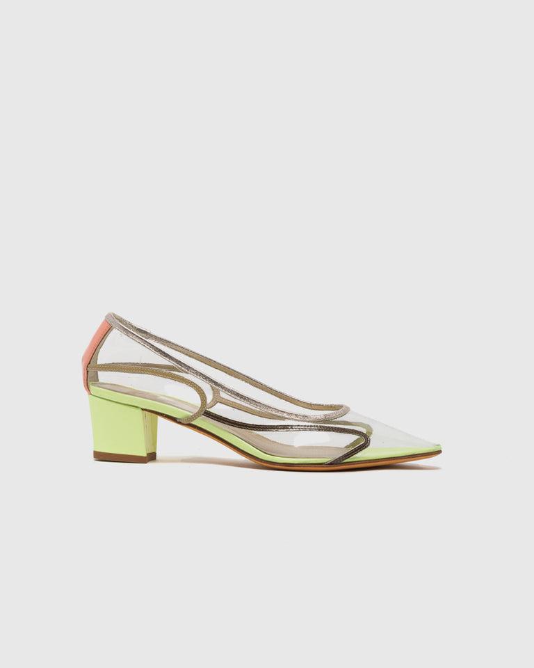 Naima Pump in Sun Florescent