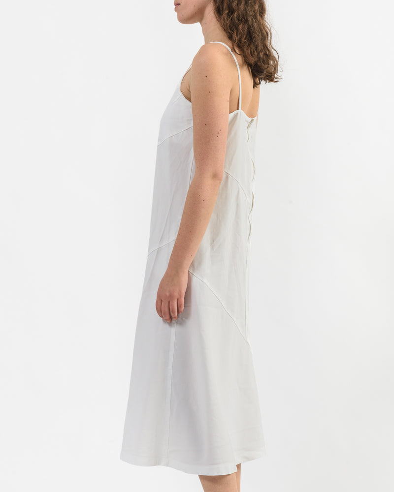 Slip Dress in White