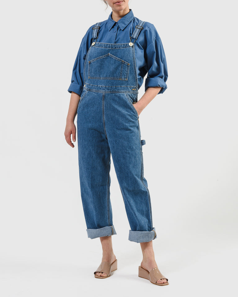 The Overalls in Cowboy Blue