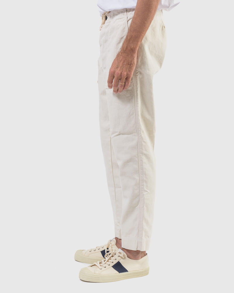 Twill Garden Pant in Stone