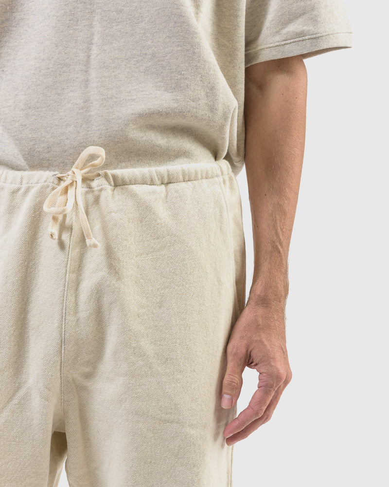 Yarn Dye Twill Home Pant in Natural