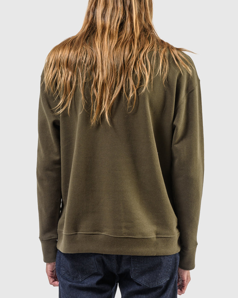 Crew 2.0 Sweatshirt in Dark Moss