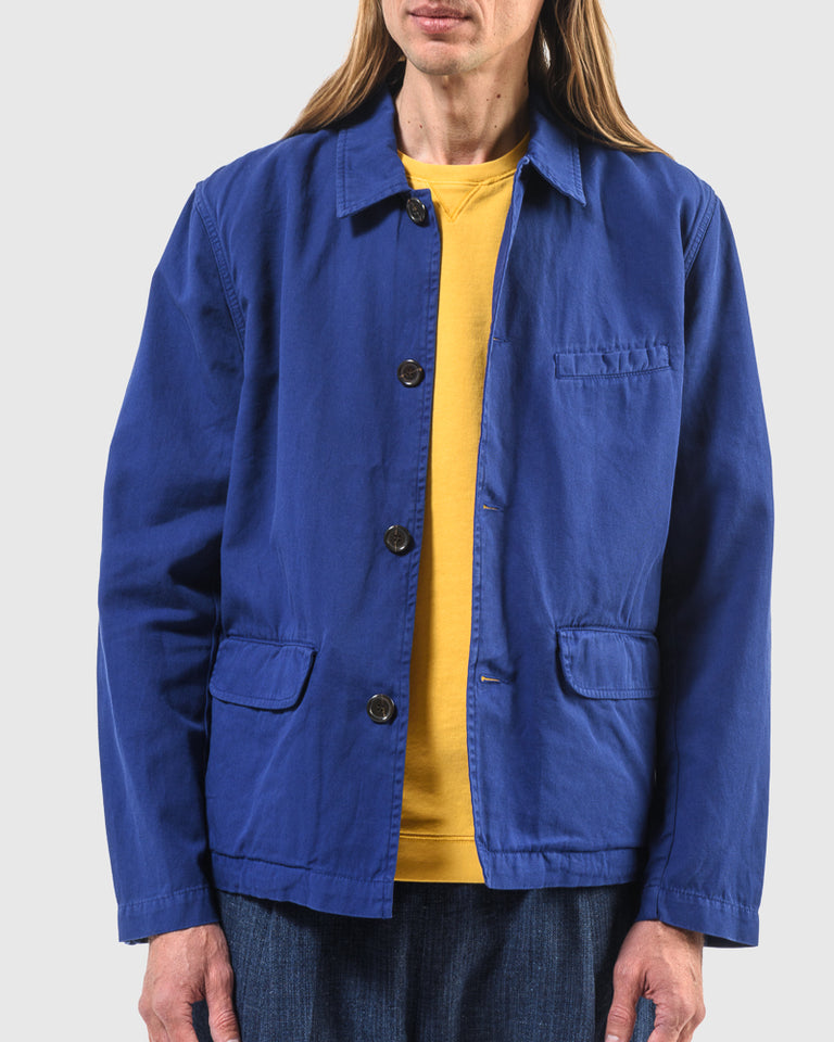 Warmus Jacket in Blue Print
