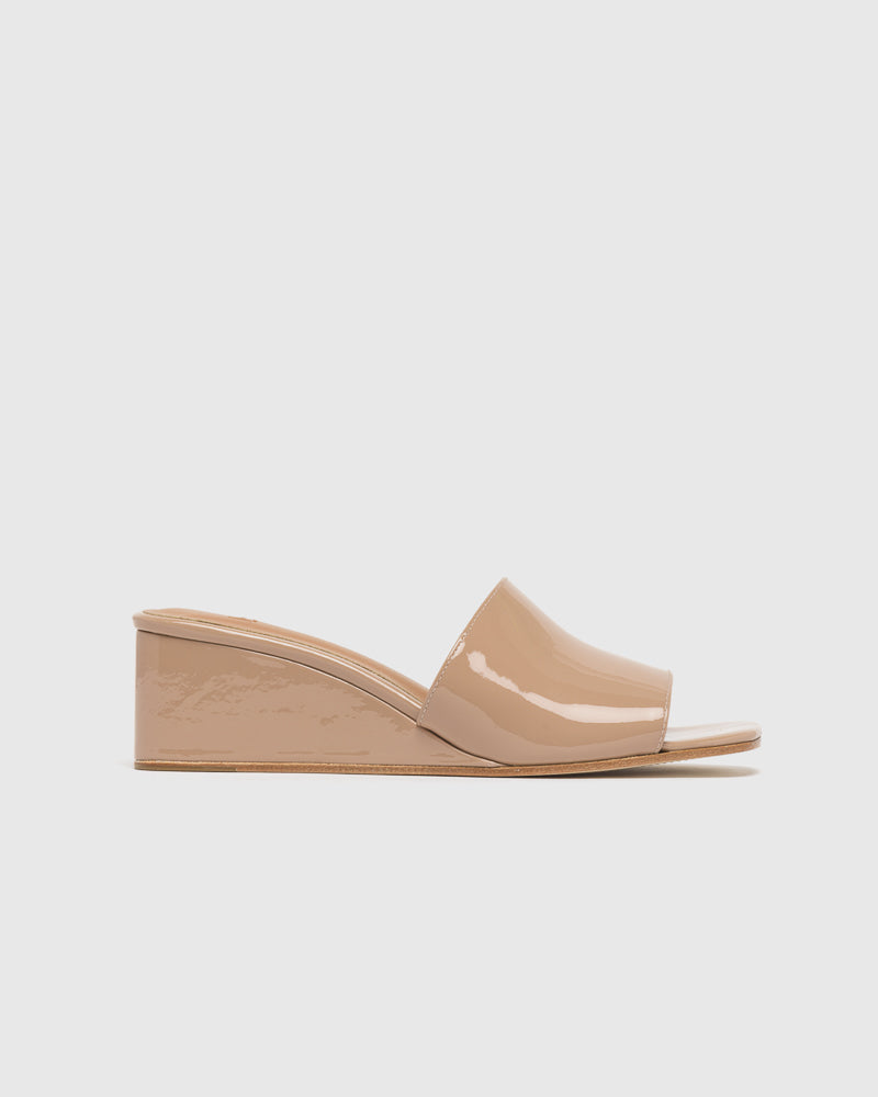 Sol Wedges in Nude