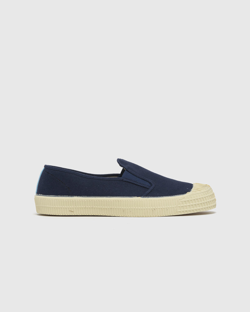 Star Slip-On in Navy