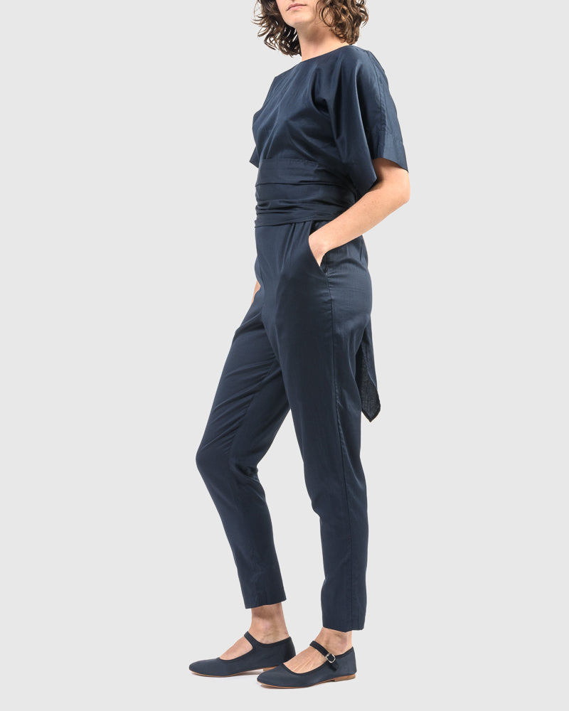 Multi Pants in Dark Navy
