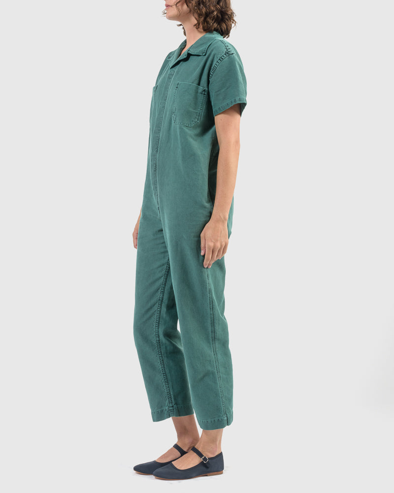 Crawford Jumpsuit in Green