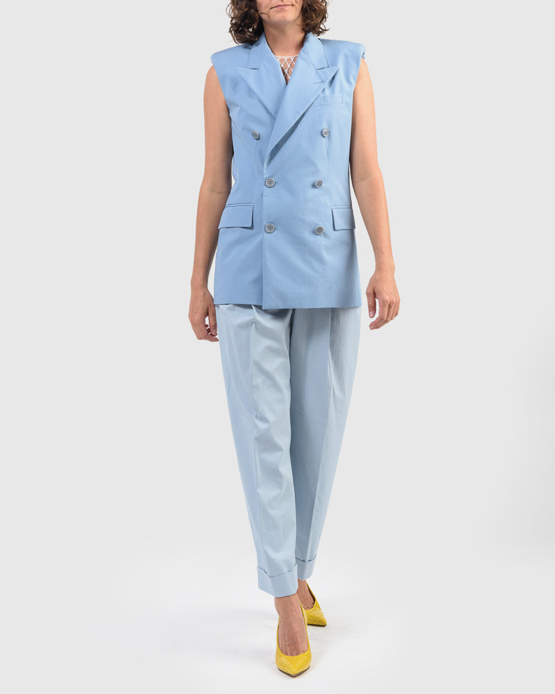Butrio Jacket in Light Blue by Dries Van Noten Woman at Mohawk General Store