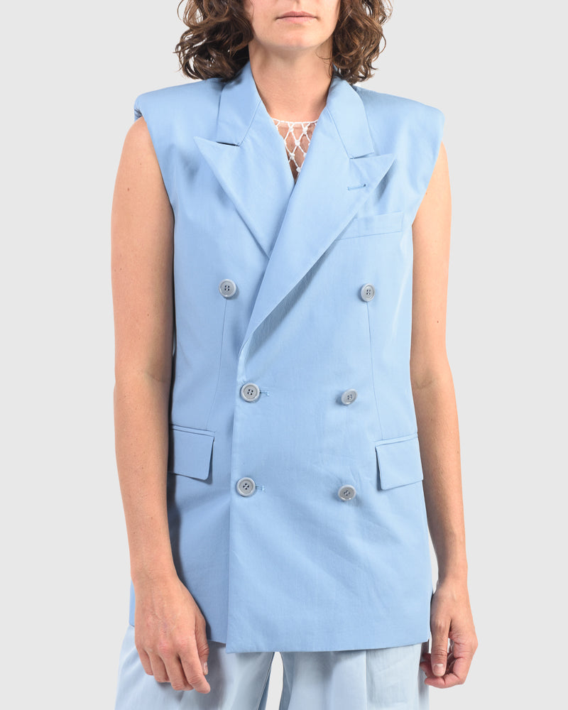 Butrio Jacket in Light Blue