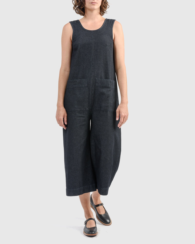 Milo Jumpsuit in Denim