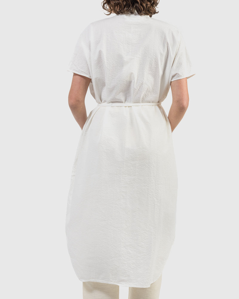 Keiko Dress in White
