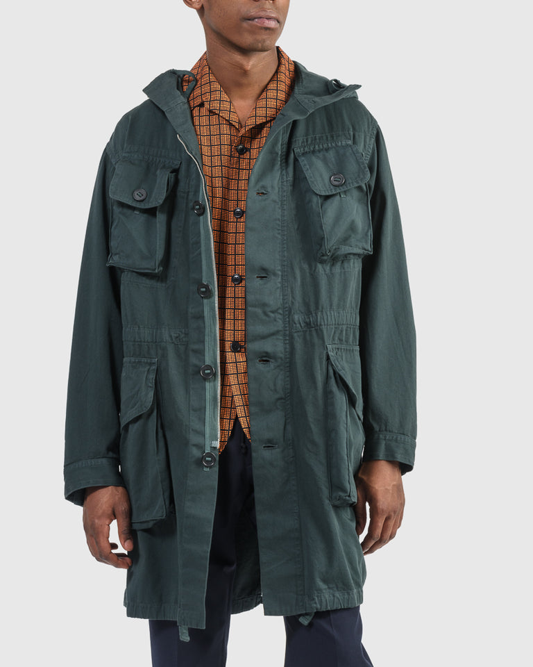 Vagner Patch Jacket in Bottle Green