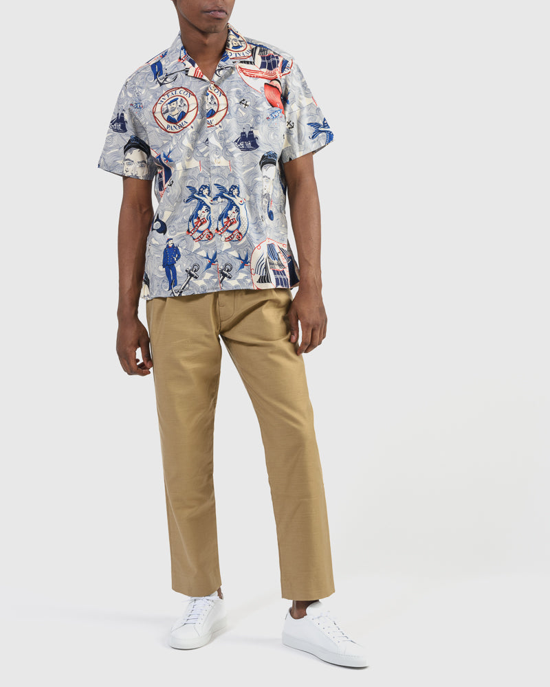 3a8a4548 Shirt in Lost At Sea Print – Mohawk General Store