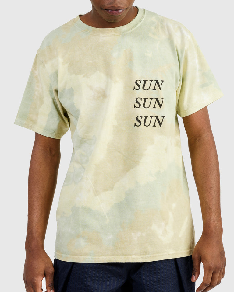 Nanpou Sun Tee in Light Olive Coyote