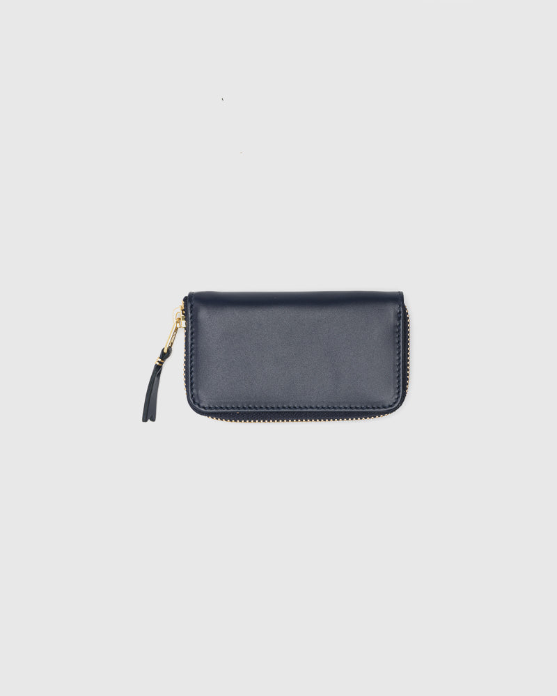 Classic Leather Line 410X in Navy by Comme des Garçons Wallet at Mohawk General Store