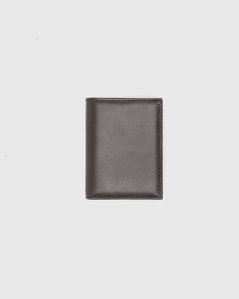 Classic Group 0641 in Brown by Comme des Garçons Wallet at Mohawk General Store