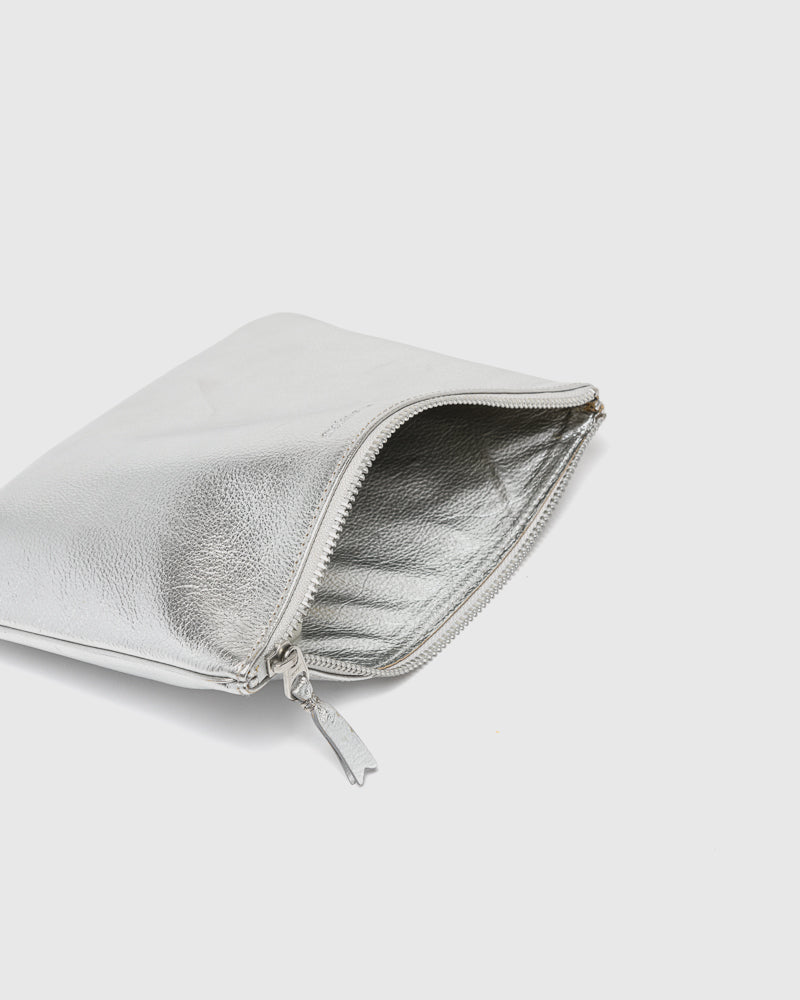 Gold Line Wallet 5100G in Silver by Comme des Garçons Wallet at Mohawk General Store