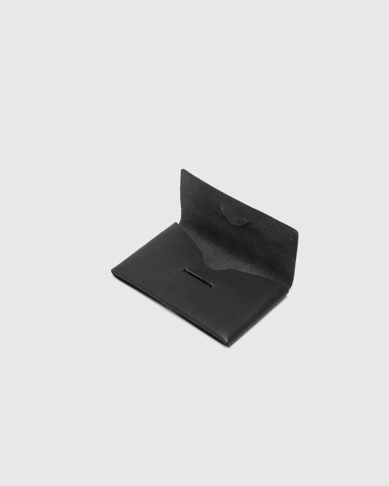 Card Case in Black by Stay Made at Mohawk General Store