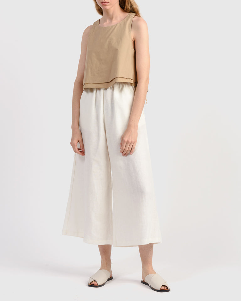 Agnes Top in Khaki