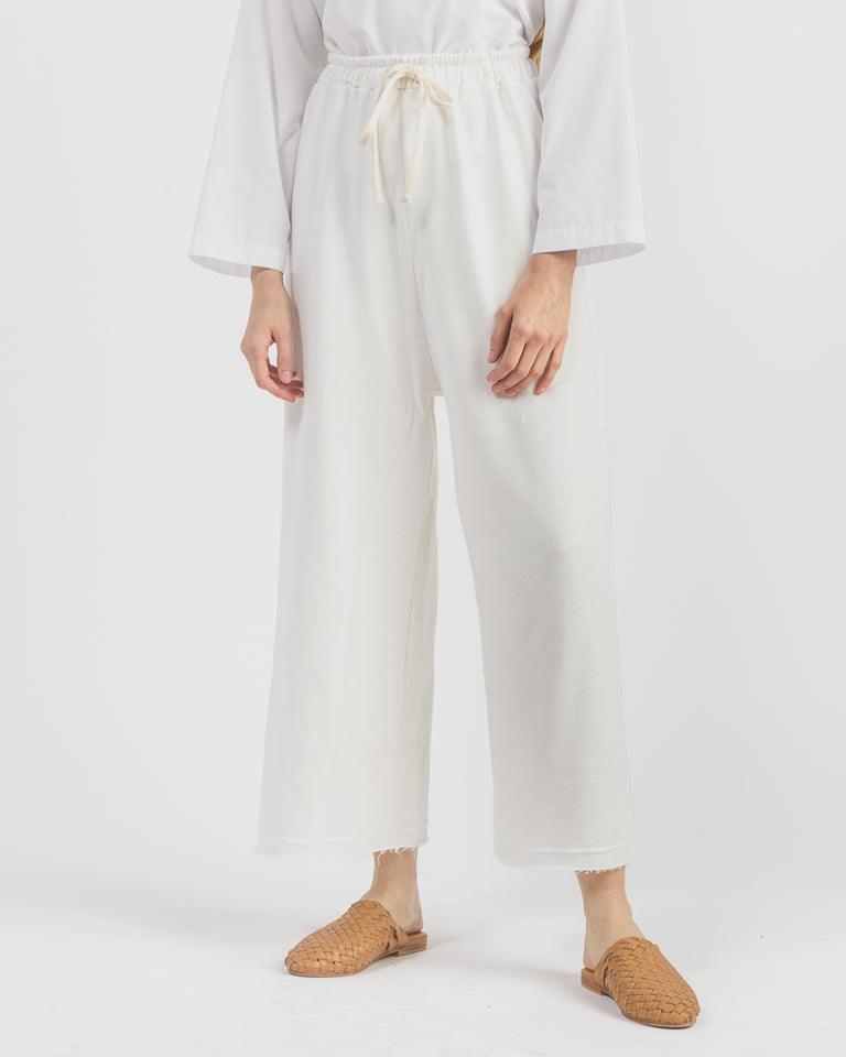 Rei Sweatpant in White