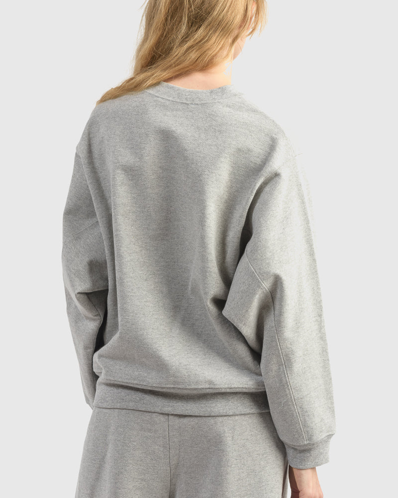 Rei Sweatshirt in Heather Grey
