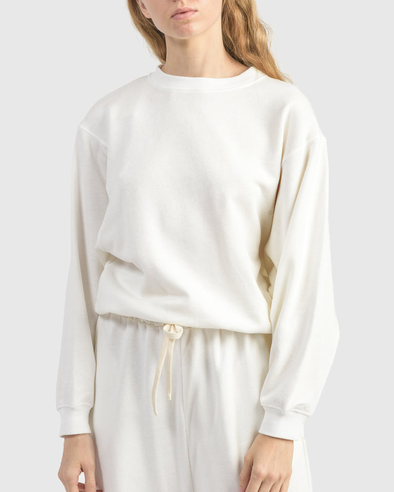 Rei Sweatshirt in White