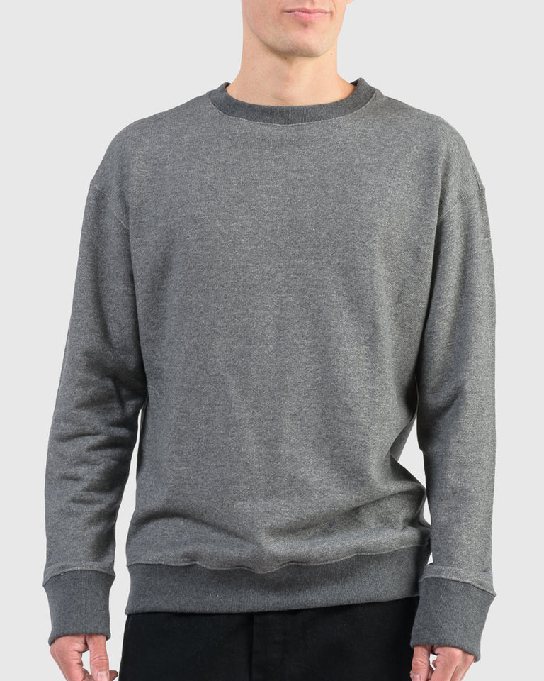 Crew 2.0 Sweatshirt in Dark Heather