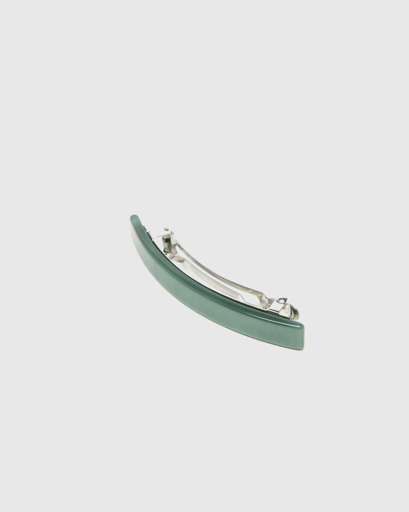 Long Lidia Barrette in Fern Green