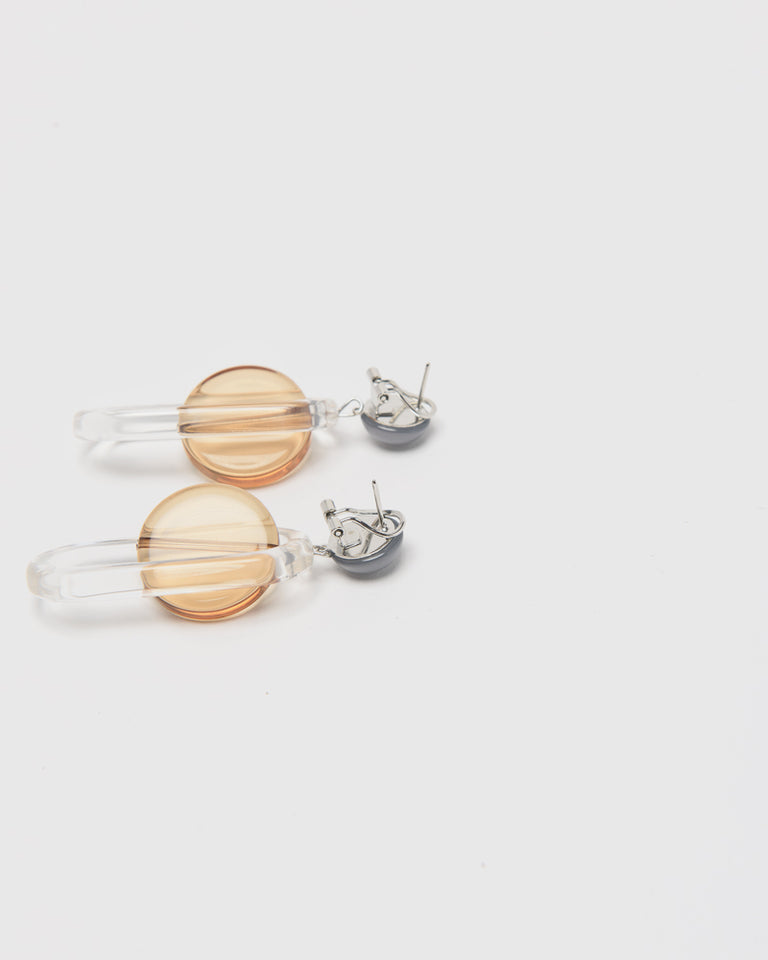 Lohr Earrings in Clear Multi
