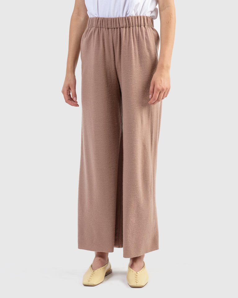 Wide Pants in Camel