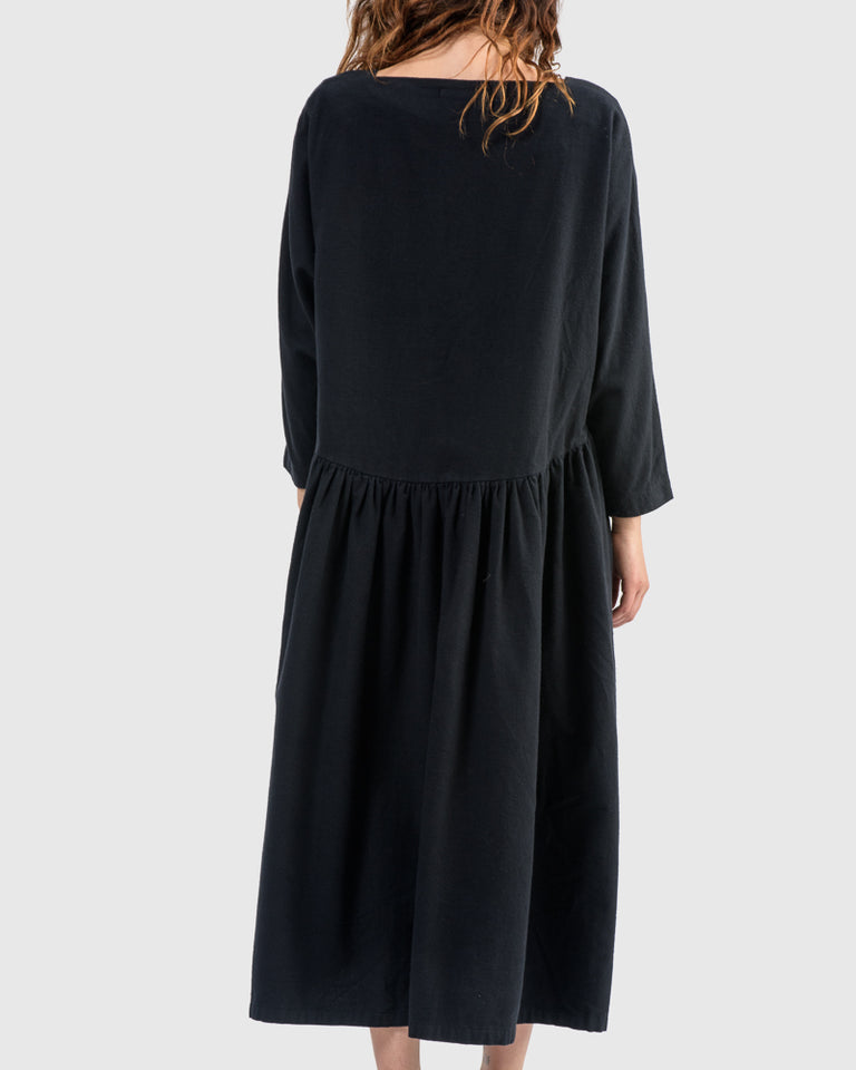 Tradi Dress in Midnight
