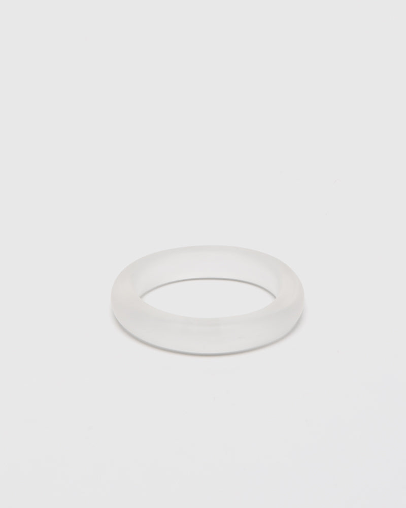 Frosted Stackable Bangle by Grace Lee at Mohawk General Store