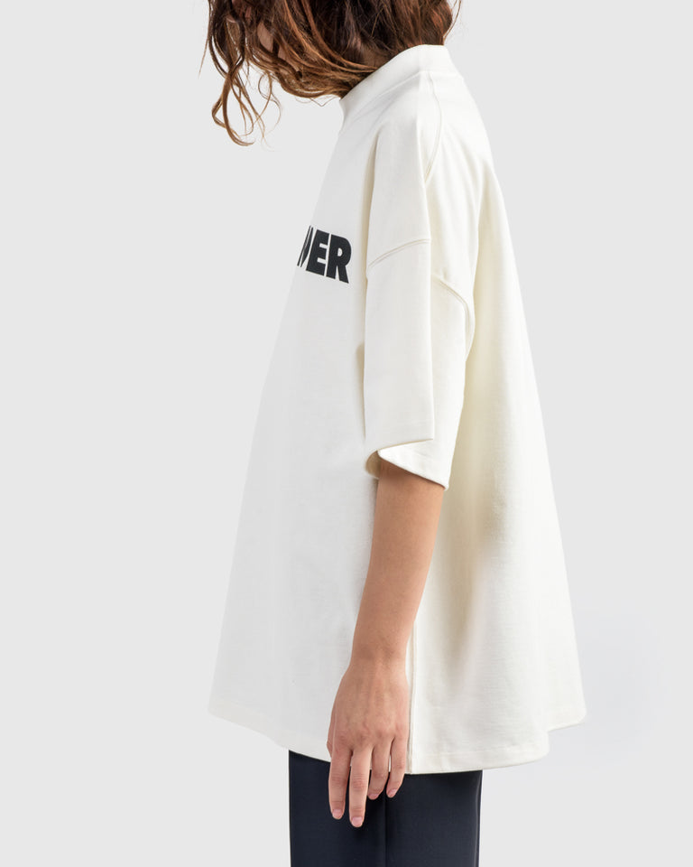 Logo Sweatshirt in Ultra White