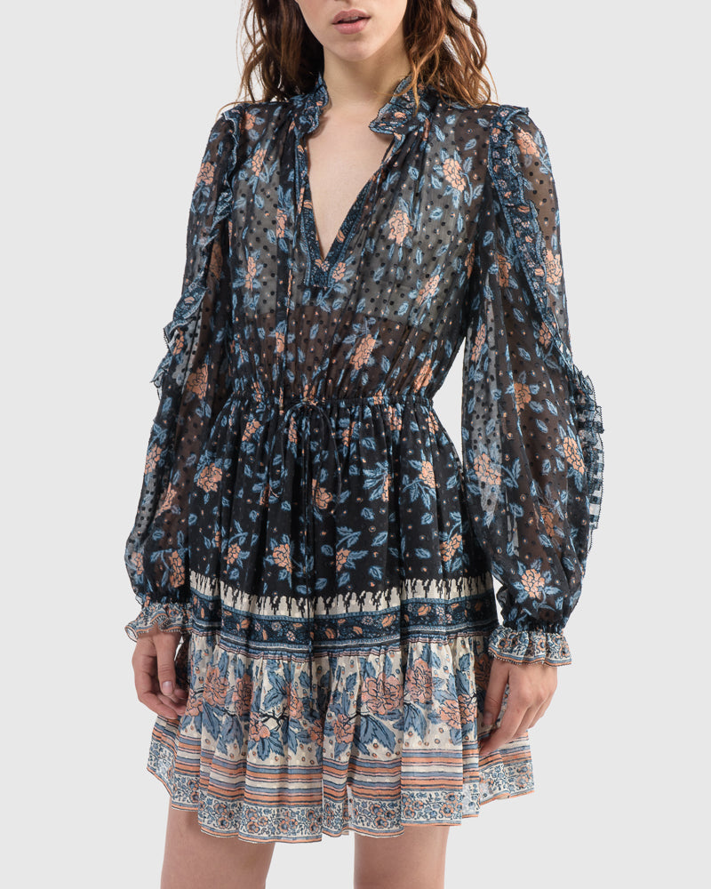 Dani Dress in Noir by Ulla Johnson at Mohawk General Store