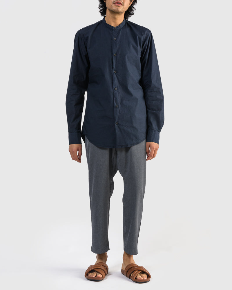 Claver Shirt in Navy by Dries Van Noten Man at Mohawk General Store