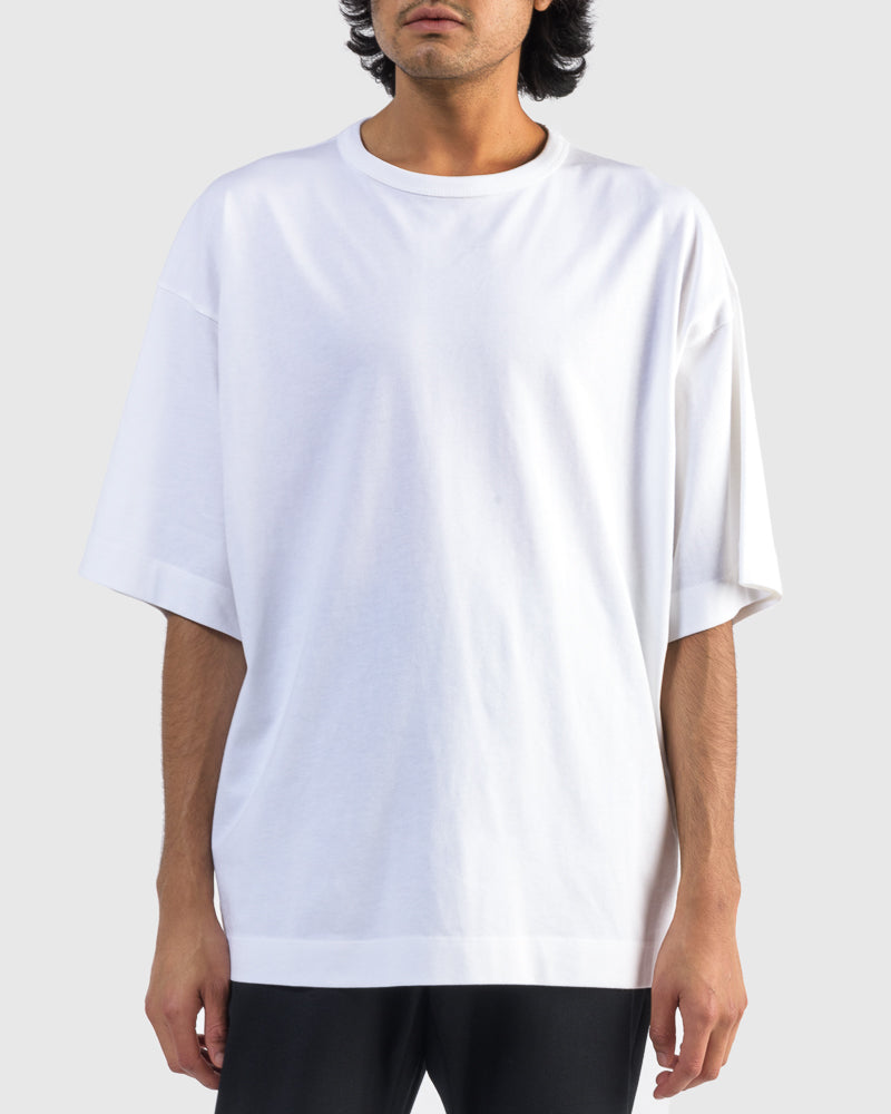 Harky T-Shirt in White by Dries Van Noten Man at Mohawk General Store