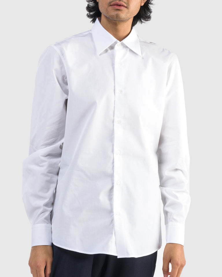 Curl Shirt in White