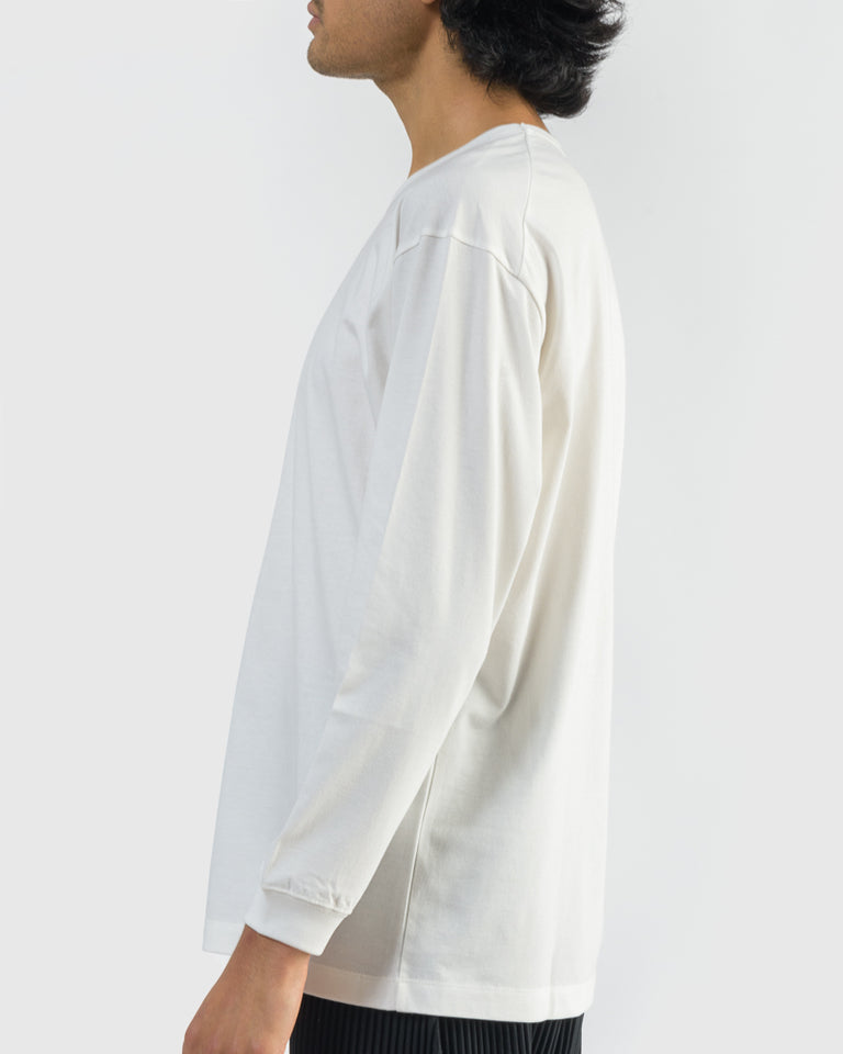 JK027 Long Sleeve Bio T-Shirt in Cream