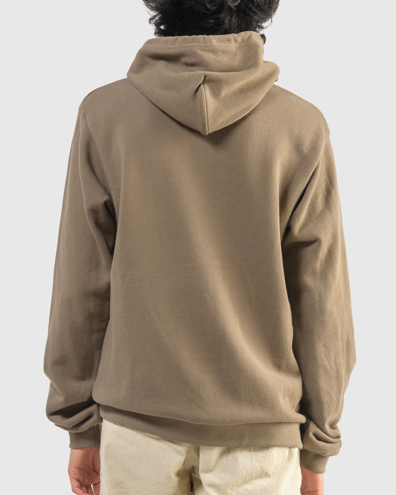 Beach Hoodie in Mocha by John Elliott at Mohawk General Store