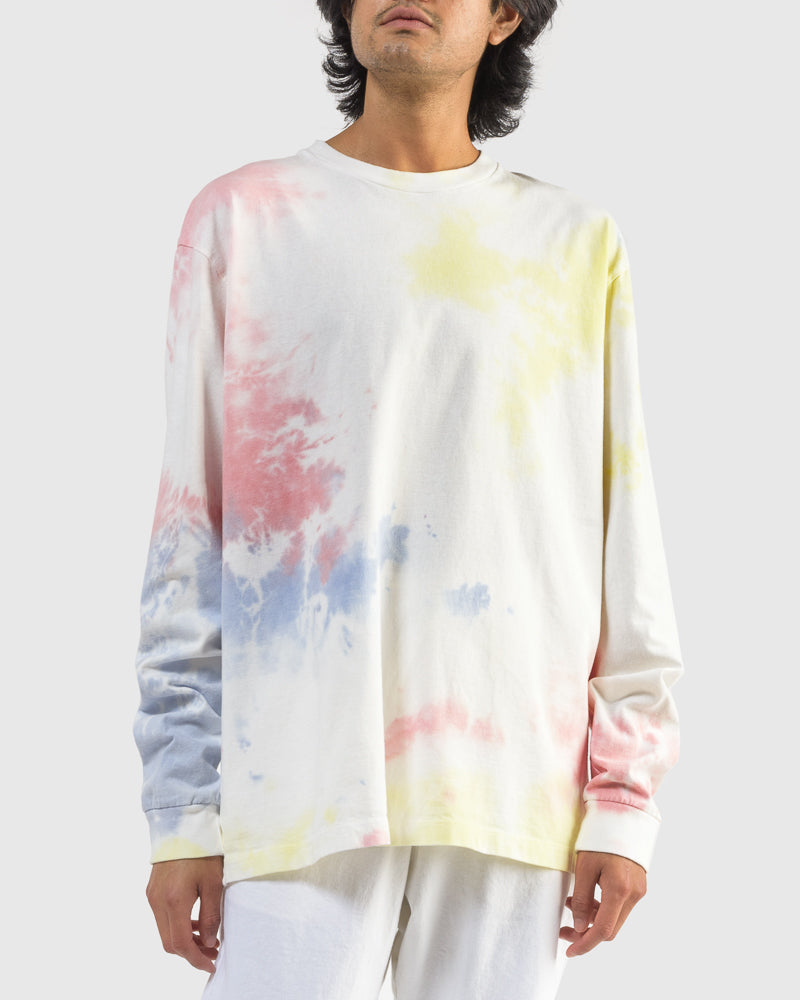 Long Sleeve University Tee in Ink Bloom