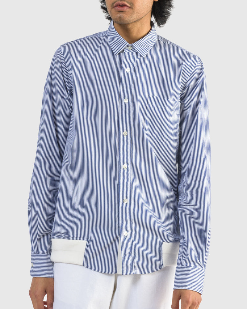 Cotton Shirt in Stripe by Sacai at Mohawk General Store