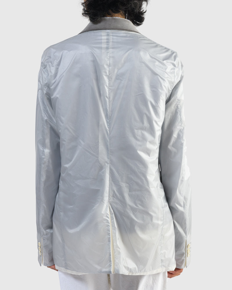 Nylon Jacket in Light Grey
